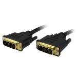 """Comprehensive DVI-D, M/M, 3m DVI cable 118.1"""" (3 m) Black"""