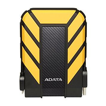 ADATA HD710 Pro 1000GB Black, Yellow external hard drive