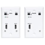 Tripp Lite B127A-1A1-FHFH AV extender AV transmitter & receiver Black