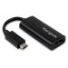 Targus ACA932EUZ video cable adapter 0.17 m USB C DisplayPort Black