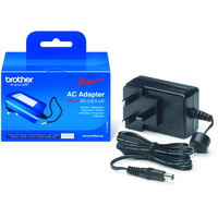 Brother AD-24ES power adapter/inverter Black