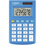 CANON HAND HELD CALCULATOR BLUE