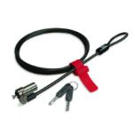 Fujitsu S26361-F1650-L900 cable lock Black, Chrome 1.500 m