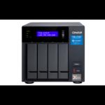 QNAP TVS-472XT-i3-4G/8TB RED 4 Bay DT NAS Tower Ethernet LAN Black i3-8100T TVS-472XT-I3-4G/8TB-RED