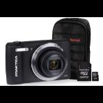 Praktica Luxmedia Z212 Black Camera Kit inc 16GB MicroSD Card & Case