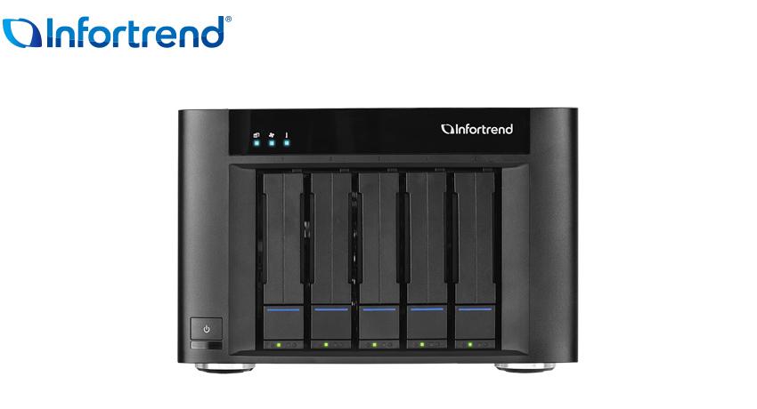 Infortrend 5 Bay Ent Desk Pro 20TB NAS