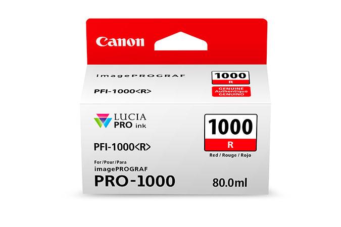 Canon PFI-1000 R Origineel Rood
