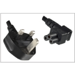 Microconnect PE090830A Black power cable