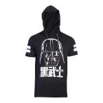 Star Wars A New Hope Classic Darth Vader T-Shirt with Hood, Male, Medium, Black (TS273510STW-M)
