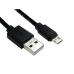 Cables Direct 99CDL2-1600 USB cable 0.5 m USB 2.0 USB A Micro-USB B Black