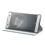 "Sony SCSH20S mobile phone case 15.2 cm (6"") Folio Silver"