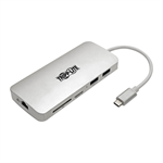 Tripp Lite U442-DOCK11-S USB 3.1 (3.1 Gen 2) Type-C 1000Mbit/s Silver interface hub