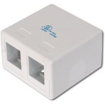 Digitus AT-AG 302A-WH RJ-45 White outlet box