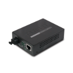 Planet GT-806B15 network media converter 2000 Mbit/s 1550 nm Black