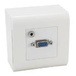 MCL BM745/VJ caja de tomacorriente Blanco