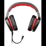 Lenovo GXD0J16085 Biauricular Diadema Negro, Rojo auricular con micrófono