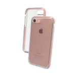 "ZAGG Piccadilly mobile phone case 11.9 cm (4.7"") Cover Rose Gold,Transparent"