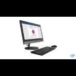 "Lenovo V330 49.5 cm (19.5"") 1600 x 900 pixels 8th gen Intel® Core™ i5 8 GB DDR4-SDRAM 256 GB SSD Wi-Fi 5 (802.11ac) Black All-in-One PC Windows 10 Pro"