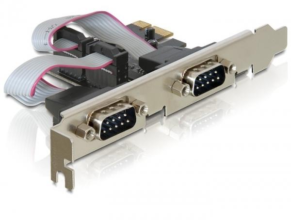 DELOCK PCI EXPRESS > 2 X SERIAL RS-232