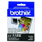 Brother LC-51BK Black Inkjet Cartridge ink cartridge