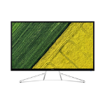 "Acer ET322QK LED display 80 cm (31.5"") 4K Ultra HD Curved Black,White"