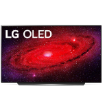 "LG OLED77CX6LA TV 195.6 cm (77"") 4K Ultra HD Smart TV Wi-Fi Black, Silver"
