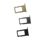 TARGET iPhone 6 Replacement Sim Tray / Sim Holder 3 Pack - Gold, Silver & Space Grey