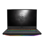 "MSI Gaming GT76 9SF-066UK Titan DT Grey Notebook 43.9 cm (17.3"") 3840 x 2160 pixels 9th gen Intel® Core™ i7 32 GB DDR4-SDRAM 2000 GB HDD+SSD Windows 10 Pro"