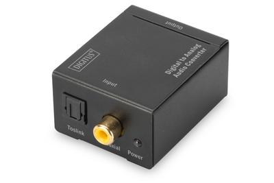 Digitus DS-40133 audio converter Black