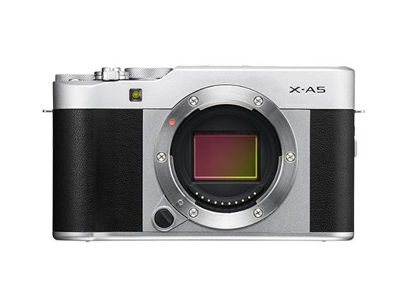 Fujifilm X -A5 + FUJINON XC15-45mm F3.5-5.6 OIS PZ Compact camera 24.2 MP CMOS 6000 x 4000 pixels Black,Silver