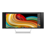 "HP Z34c 34"" UltraWide Quad HD VA Matt Black,Silver"
