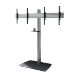 "B-Tech BTF844 116.8 cm (46"") Fixed flat panel floor stand Black,Silver"