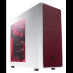 BitFenix Neos Window Midi-Tower Red,White computer case