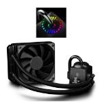 DeepCool GamerStorm Captain 120EX RGB Liquid CPU Cooler, 120mm Radiator, 1 x 12cm Fan, RGB Lighting, Aura Syn