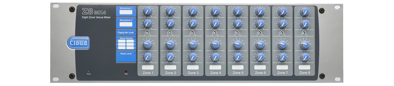 Cloud Electronics Z8MK4 audio mixer