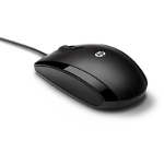 HP X500 mice USB Optical Ambidextrous Black
