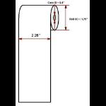 """Datamax O'Neil Premium 2.25"""" x 74' thermal paper"""