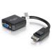 C2G 20cm DisplayPort M / VGA F 0,2 m VGA (D-Sub) Negro
