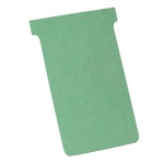 Nobo T-Cards A110 Light Green (100) index card