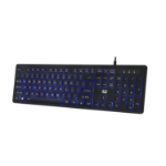 Adesso AKB-139EB keyboard USB QWERTY US English Black