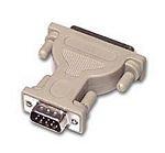 C2G DB9/DB25 Adapter DB9 M DB25 FM Grey