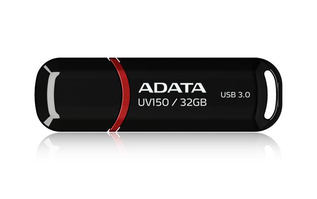 ADATA 32GB DashDrive UV150 32GB USB 3.0 (3.1 Gen 1) Type-A Black USB flash drive