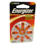 Energizer Hearing Aid EZ Turn & Lock 13 (8 pack)