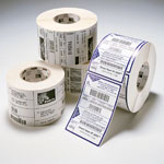 Zebra 12-Pack Label DT 4X6 475/ROLL PE DQP 3000 Blanco