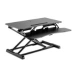 V7 DT2SSB-1N desktop sit-stand workplace