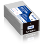 Epson SJIC22P(K): Ink cartridge for ColorWorks C3500 (Black)