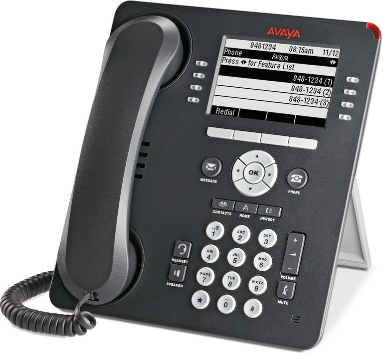 Avaya 9508 Wired handset LCD Charcoal,Grey IP phone 700500207