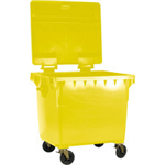 FSMISC 1100L YELLOW WHEELED BIN / LID 377377397