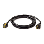 Power Cord, Locking C19 to L6-20P, 3.0m