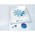 GBC HiClear Binding Covers A4 PVC 150 Micron Clear (50)